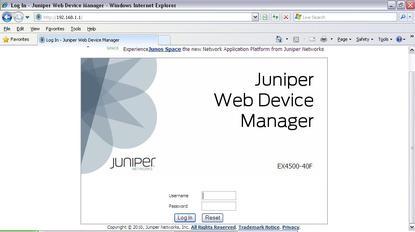 Juniper screenshot