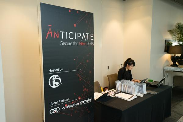 The opening of ANTICIPATE 2016