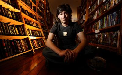 Aaron Swartz in San Francisco in 2008