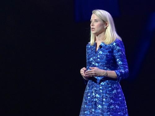 Marissa Mayer speaking at CES
