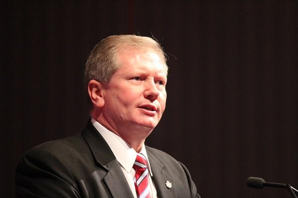 Queensland Police Detective Superintendent Brian Hay.