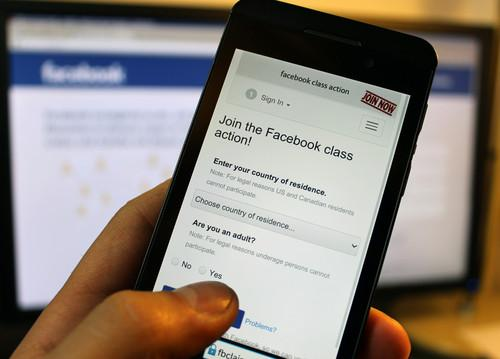 European class action against Facebook