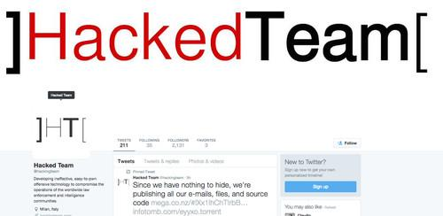 Hacking Team, an Italian maker of surveillance software, was allegedly breached on Sunday.