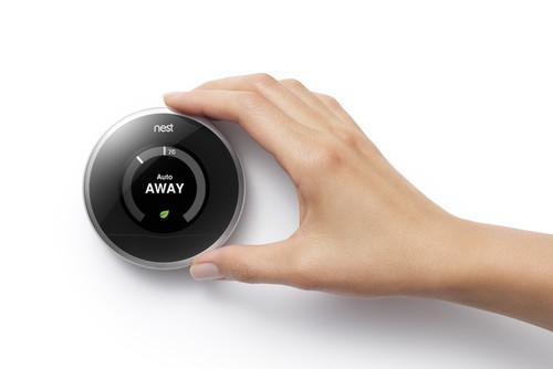 Operating a Nest thermostat
