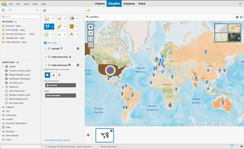 SAP's Lumira analytics tool