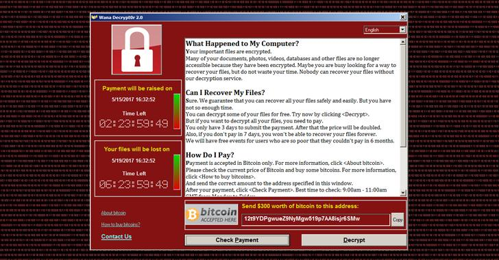 Worldwide ransomware cyber attack
