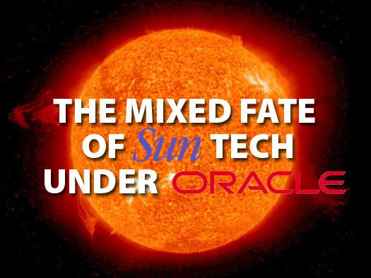 In pictures: The mixed fate of Sun tech under Oracle