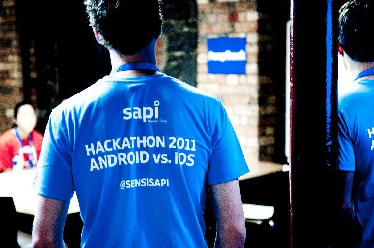 In pictures: iOS vs Android Hackathon event