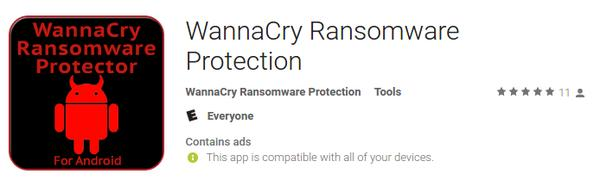 Fake Android WannaCry protectors pop up on Google Play.
