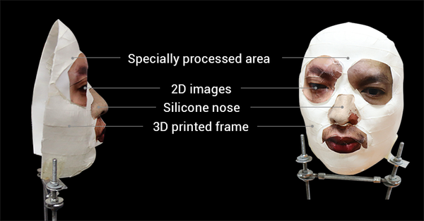 Researcher beat Face ID with 3D printed mask, silicon nose and 2D printed eyes