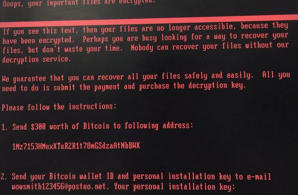 You can pay to recover files, but now you can't receive the decryption key from the attackers. Credit: Group IB