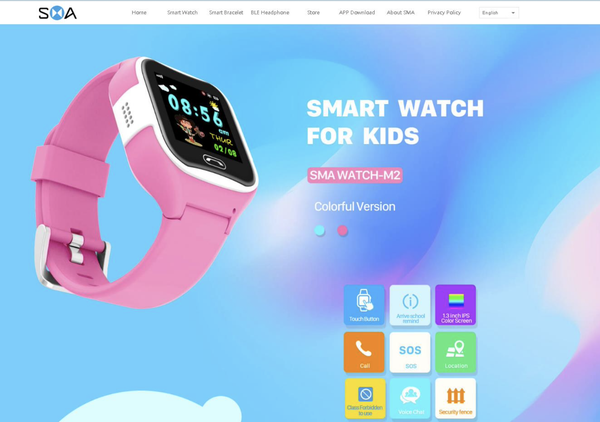 $30 smartwatch is a stalking danger to kids