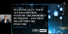 Statistically, your access-control systems are probably outdated – and that means they're insecure